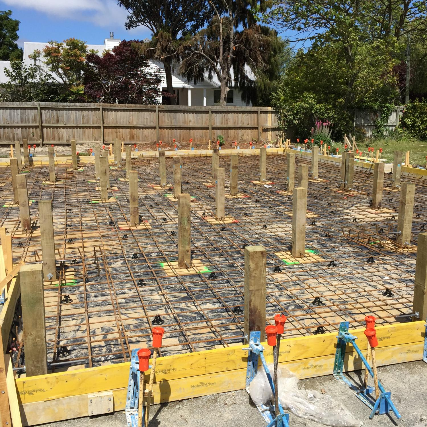 Type 2b foundation christchurch solid bearing christchurch for Old house foundation types